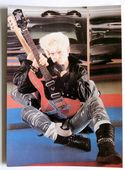 Billy Idol - 'Guitar' Postcard